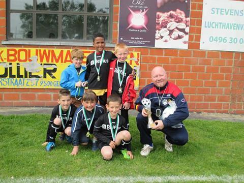 U8 1ste plaats tornooi FCE Moerbeke  2014